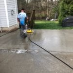 """Our team is here to help your exterior check off all the boxes, starting with concrete cleaning and sealing. Using an innovative pressure washing approach, we make """"top quality"""" the hallmark of your property – today and into the future."""
